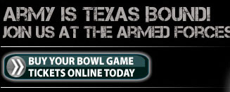 Purchase your bowl game tickets online today or donate tickets to a cadet or enlisted soldier
